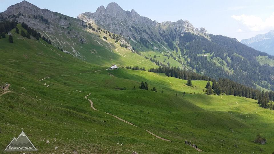 Gehrenalpe – Lechaschauer Alm