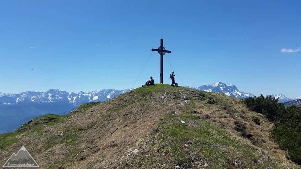 Notkarspitze mit Gipfelkreuz