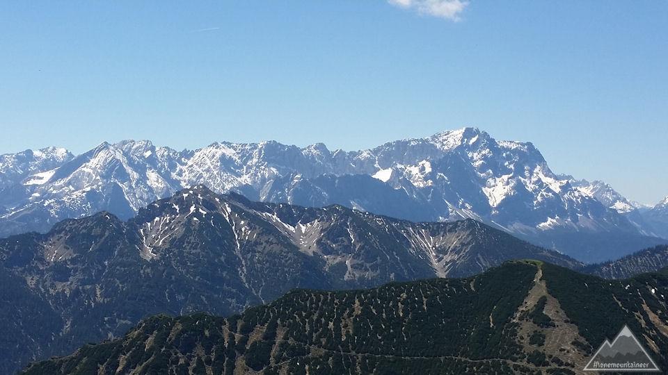 Zugspitze von Notkarspitze
